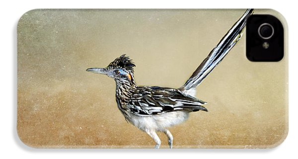 Greater Roadrunner 2 IPhone 4s Case by Betty LaRue