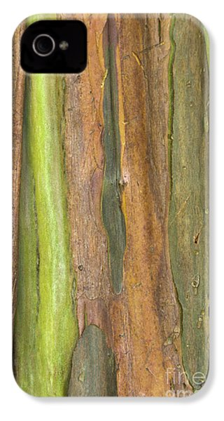 IPhone 4s Case featuring the photograph Green Bark 3 by Werner Padarin