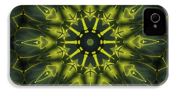 Succulent Mandala IPhone 4s Case by Yulia Kazansky