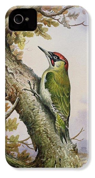 Green Woodpecker IPhone 4s Case