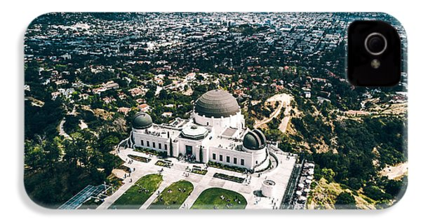 Griffith Observatory And Dtla IPhone 4s Case by Andrew Mason