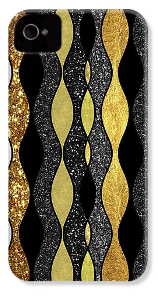 Groovy, Baby Modern Take On A Retro 1960s Design IPhone 4s Case by Tina Lavoie