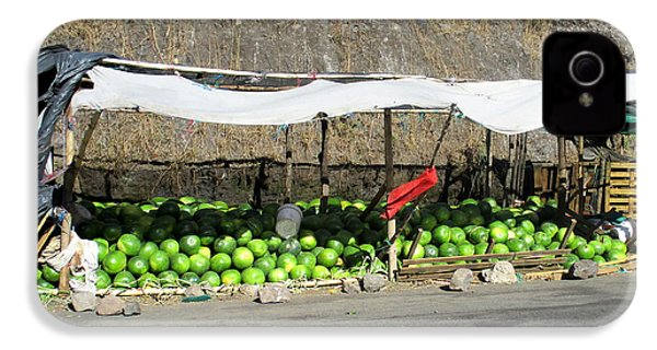 Guatemala Stand 2 IPhone 4s Case by Randall Weidner
