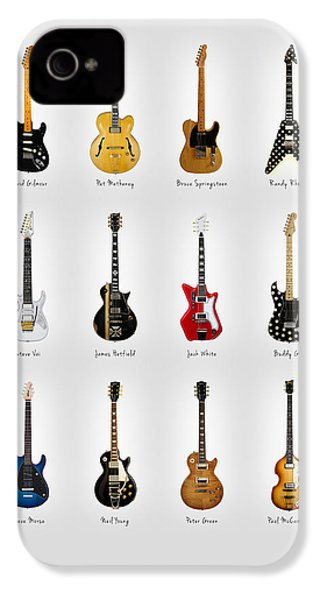 Guitar Icons No2 IPhone 4s Case by Mark Rogan