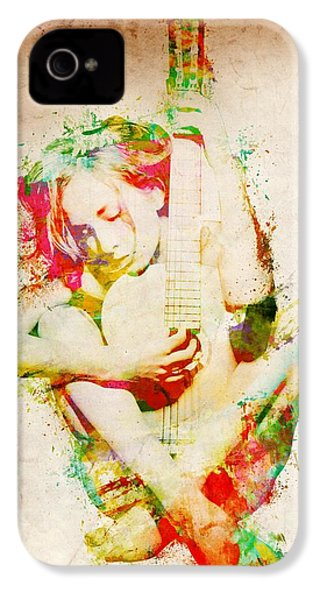 Guitar Lovers Embrace IPhone 4s Case by Nikki Smith