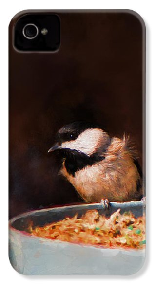 Hanging On The Edge IPhone 4s Case by Jai Johnson