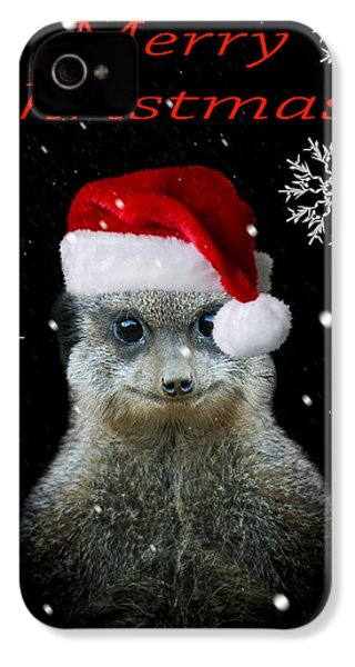 Happy Christmas IPhone 4s Case