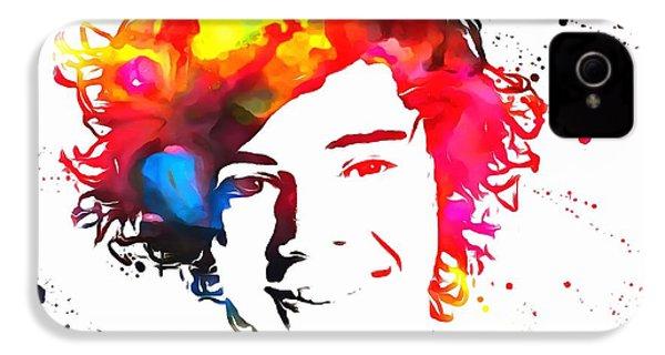 Harry Styles Paint Splatter IPhone 4s Case by Dan Sproul