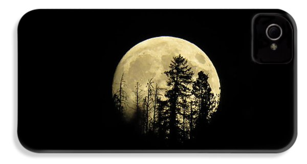 Harvest Moon IPhone 4s Case by Karen Shackles