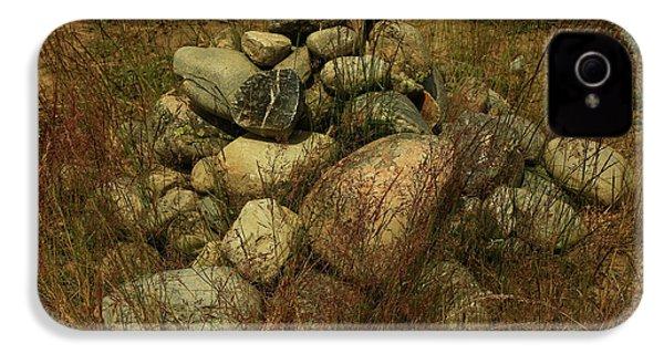 Heap Of Rocks IPhone 4s Case by Nareeta Martin