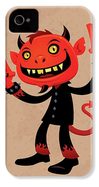 Heavy Metal Devil IPhone 4s Case