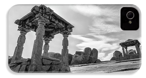 IPhone 4s Case featuring the photograph Hemakuta Hill, Hampi, 2017 by Hitendra SINKAR