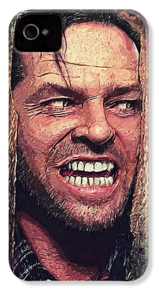 Here's Johnny - The Shining  IPhone 4s Case by Taylan Apukovska