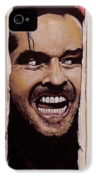Here's Johnny IPhone 4s Case by Tom Carlton