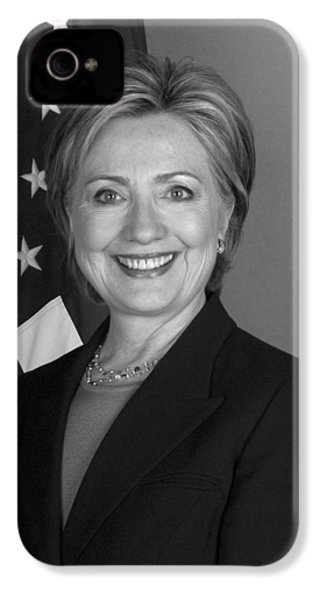 Hillary Clinton IPhone 4s Case by War Is Hell Store