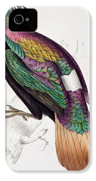 Himalayan Monal Pheasant IPhone 4s Case by John Gould