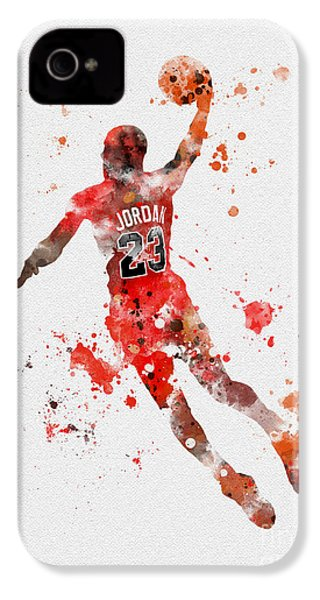 His Airness IPhone 4s Case by Rebecca Jenkins