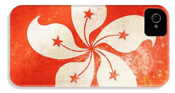 Hong Kong China Flag IPhone 4s Case by Setsiri Silapasuwanchai