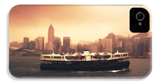 Hong Kong Harbour 01 IPhone 4s Case by Pixel  Chimp
