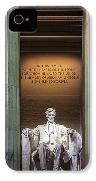 Honored For All Time IPhone 4s Case by Andrew Soundarajan
