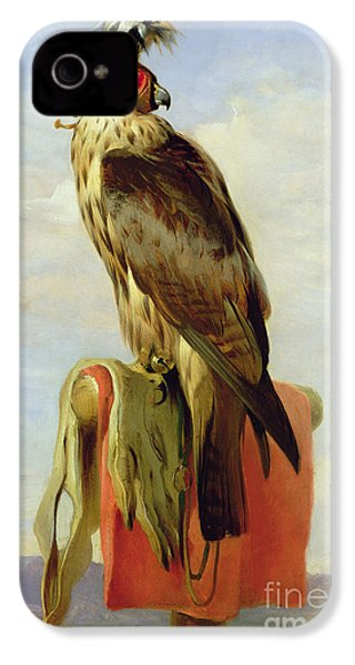 Hooded Falcon IPhone 4s Case by Sir Edwin Landseer