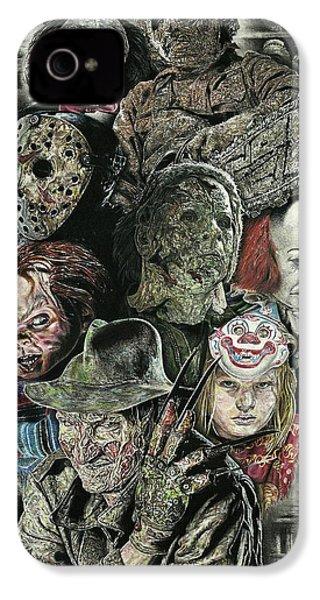 Horror Movie Murderers IPhone 4s Case
