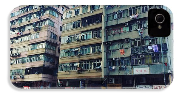 Houses Of Kowloon IPhone 4s Case by Florian Wentsch