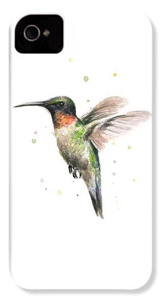Hummingbird IPhone 4s Case by Olga Shvartsur