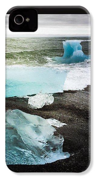 Iceberg Pieces Jokulsarlon Iceland IPhone 4s Case by Matthias Hauser