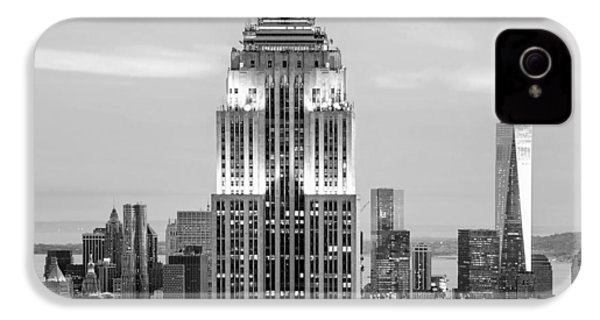 Iconic Skyscrapers IPhone 4s Case by Az Jackson