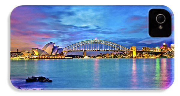 Icons Of Sydney Harbour IPhone 4s Case by Az Jackson