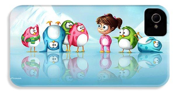 Im A Penguin Too IPhone 4s Case
