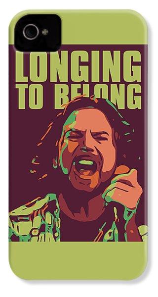 Eddie Vedder IPhone 4s Case by Greatom London