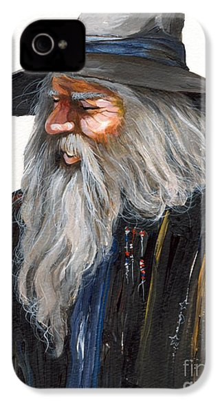 Impressionist Wizard IPhone 4s Case by J W Baker