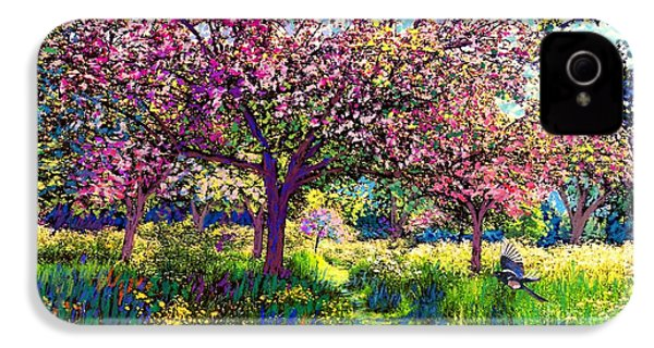 In Love With Spring, Blossom Trees IPhone 4s Case by Jane Small