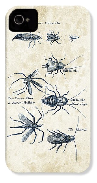 Insects - 1792 - 10 IPhone 4s Case by Aged Pixel