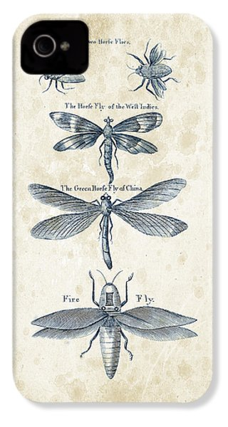 Insects - 1792 - 16 IPhone 4s Case by Aged Pixel