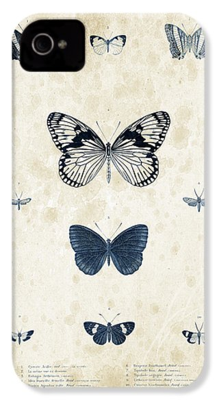 Insects - 1832 - 03 IPhone 4s Case by Aged Pixel