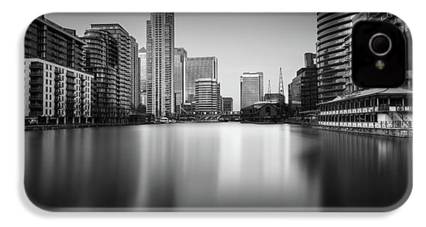 Inside Canary Wharf IPhone 4s Case by Ivo Kerssemakers