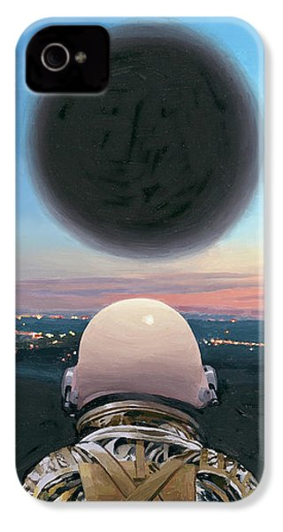 IPhone 4s Case featuring the painting Into The Void by Scott Listfield