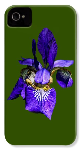 IPhone 4s Case featuring the photograph Iris Versicolor by Mark Myhaver
