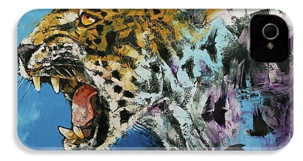 Jaguar IPhone 4s Case by Michael Creese