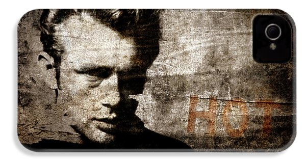 James Dean Hot IPhone 4s Case by Carol Leigh
