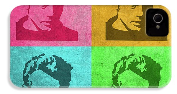 James Dean Vintage Pop Art IPhone 4s Case by Design Turnpike