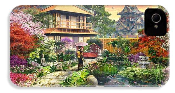 Japan Garden Variant 2 IPhone 4s Case by Dominic Davison