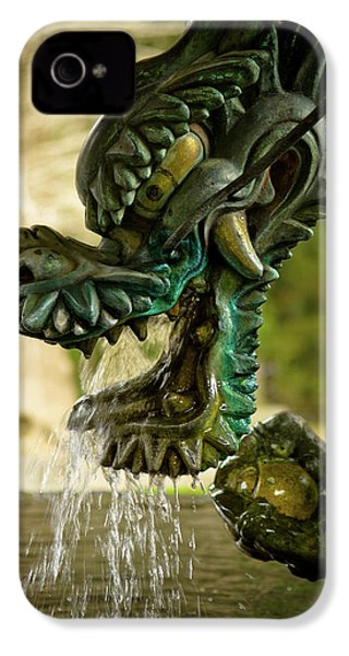 Japanese Water Dragon IPhone 4s Case by Sebastian Musial