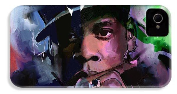 Jay Z IPhone 4s Case by Richard Day