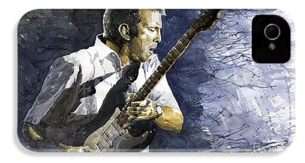 Jazz Eric Clapton 1 IPhone 4s Case by Yuriy  Shevchuk