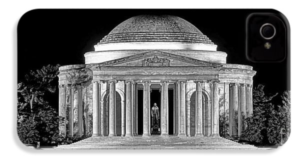 Jefferson Memorial Lonely Night IPhone 4s Case by Olivier Le Queinec