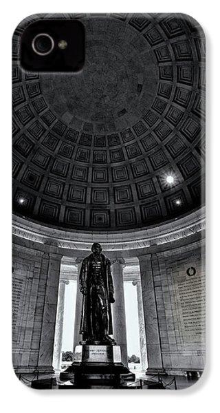 Jefferson Statue In The Memorial IPhone 4s Case